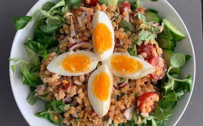 Recept Linzen salade